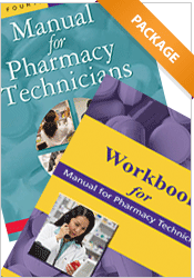 Package: Manual for Pharmacy Technicians + Workbook