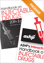 Package: Handbook on Injectable Drugs Print + Interactive