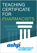 Teaching Certificate for Pharmacists