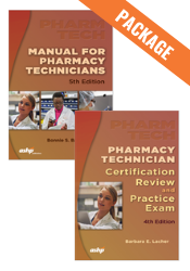 Package: Manual for Pharmacy Technicians + Certification Review