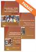 Package: Manual for Pharmacy Technicians + Workbook + Certification Review