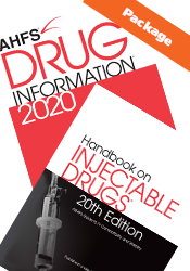 Package: AHFS DI and Handbook on Injectable Drugs