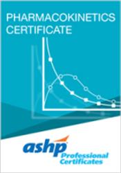 Pharmacokinetics Certificate