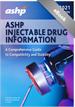 ASHP Injectable Drug Information 2021 eBook