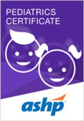 Pediatrics Certificate