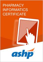 Pharmacy Informatics Certificate